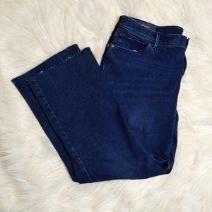 J. Jill Kick Flare Waverly Wash jeans